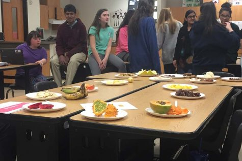 ICA students take a culinary trip around the world