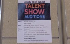 Auditions for talent show on Monday