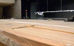 Auditorium repairs nearing completion