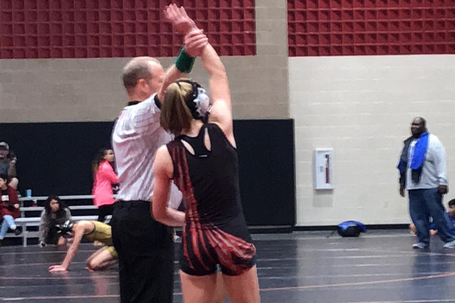Dominating against 100 opponents over her high school wrestling career, senior Savannah West will make her way to Frisco High alongside her team for the Texas Ladies' Classic on Friday and Saturday.