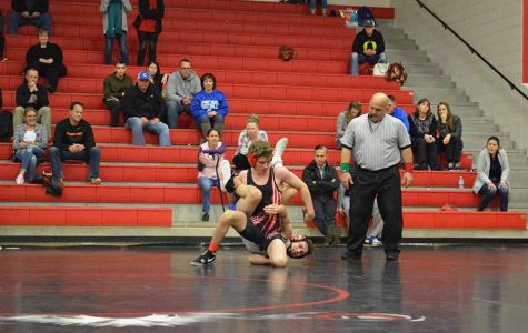 Wrestling team has a 8-5A Championship meet starts at 4:00 p.m. The meet will continue until Saturday.