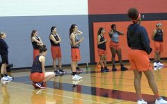Finishing second in District 13-5A, the girls' basketball team faces off against McKinney North in the opening round of the 2018 5A playoffs. The game begins at 7:00 p.m. at McKinney Boyd.