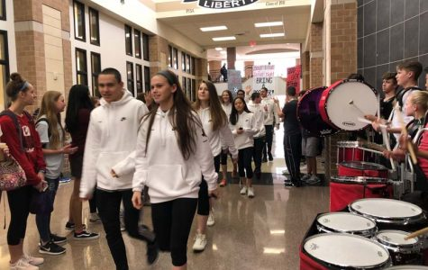 School sends swimmers south for state