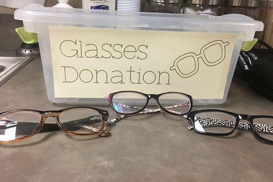 Eyeglass+donations+can+be+dropped+off+in+the+nurse%27s+office+until+March+30.%0A%0A%E2%80%9CThey+need+to+be+regular+glasses%2C+they+just+can%E2%80%99t+be+sunglasses%2C%E2%80%9D+junior+Sathya+Balakumar+said.+%E2%80%9CLet%E2%80%99s+say+you+had+glasses+and+switched+to+contacts+for+example%2C+like+you+have+the+full+credit+you+don%E2%80%99t+use+or+your+prescription+has+changed%2C+you+just+need+the+actual+frame+and+not+actually+the+lense+itself.+We+don%E2%80%99t+want+plastic+or+like+3D+lenses+because+you+can%E2%80%99t+actually+use+that+to+help+people%2C+but+just+regular+eyeglasses.%E2%80%9D%0A