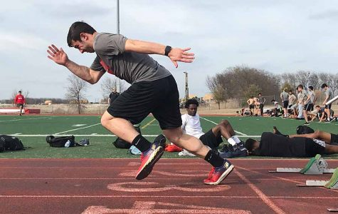 Competing in meets, track season hits its stride