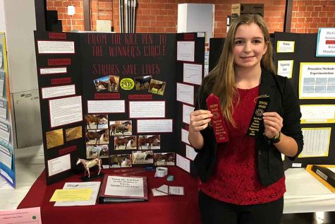 Freshmen bring A game at Regional Science and Engineering Fair