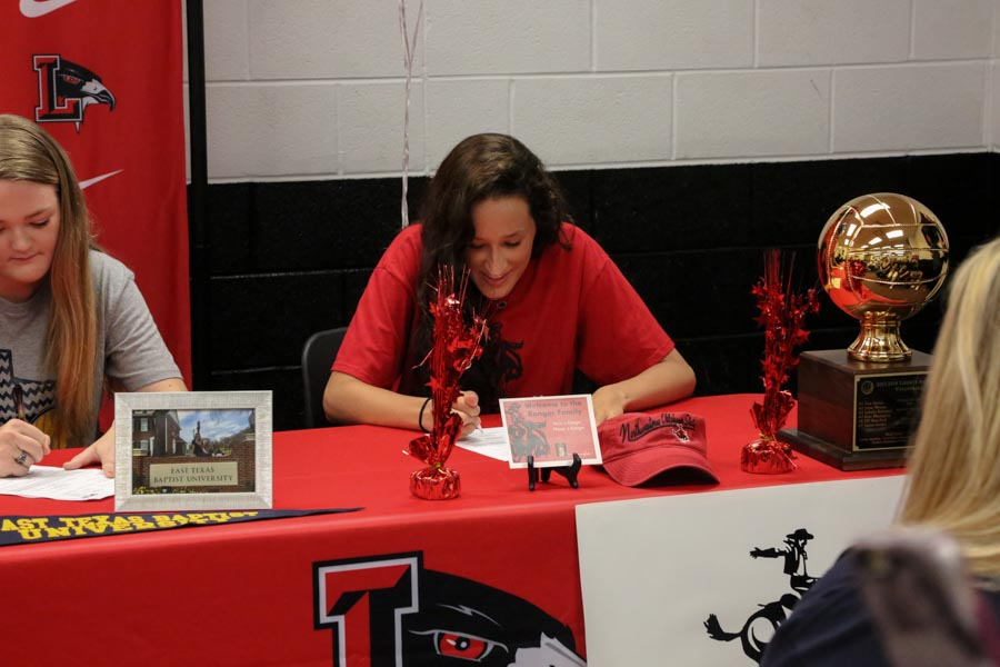 Stephanie Bray is planning on attending Northwestern Oklahoma University to continue her volleyball career.