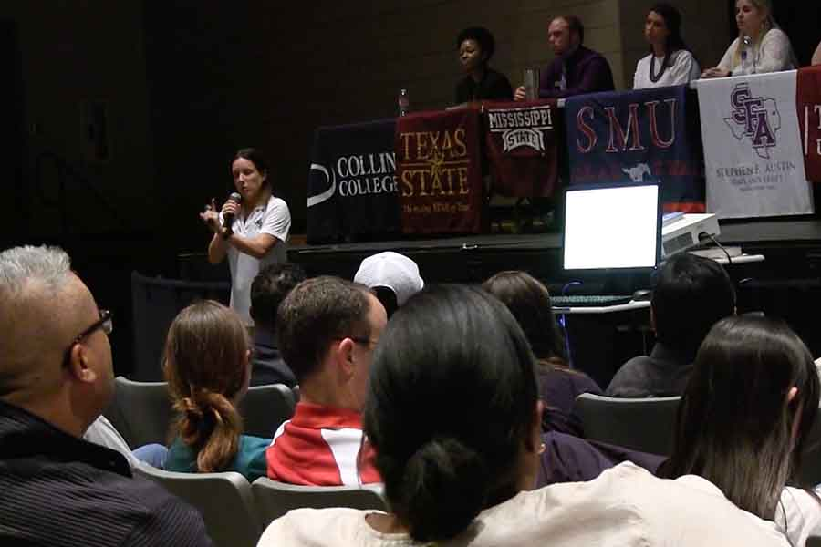 Applying for college was the focus of Wednesdays Just for Juniors event which outline the process for the class of 2019.