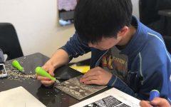 Carving their creativity