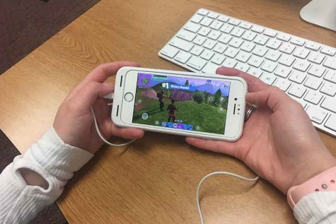 Fortnite takes students by storm