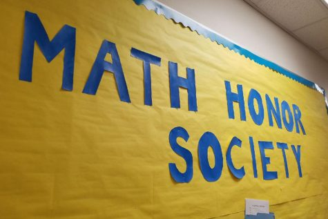 Math Honor Society hours due