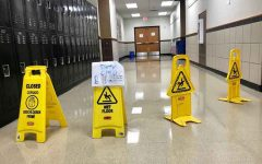 Water damage disrupts school day for third time in five months