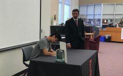 Davis signs to play for Trinity University
