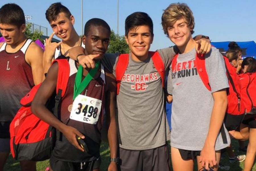 Competing in the 400, 800, and 4x400,  sophomore Jahson Ferguson is hoping to advance out of Friday's District 13-5A track meet.