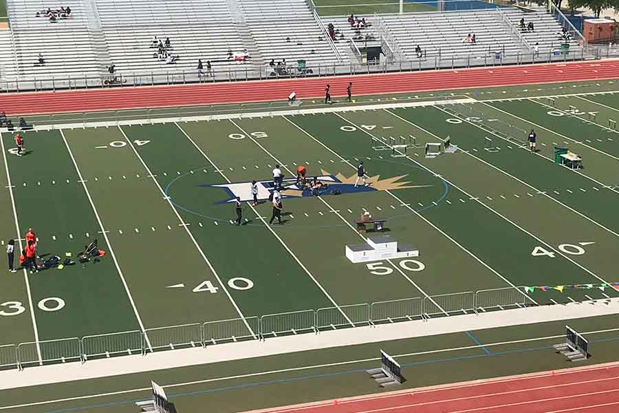 16 Redhawks are competing in the area track meet Thursday at Memorial Stadium with the chance to advance to the 5A Region II meet April 27-28 at UT-Arlington.