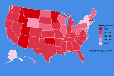State by state spending on schools