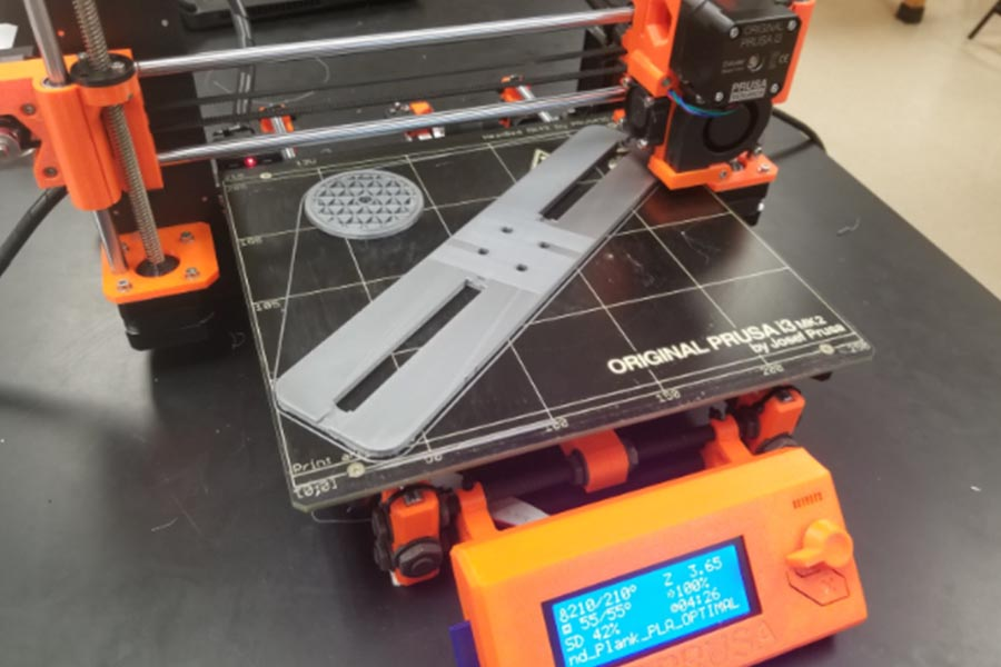 Students in any class from Biology to Physics can reap the benefits of the new 3D printer in the science department.