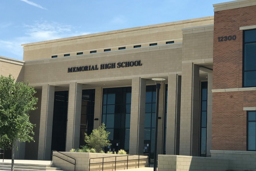 Memorial High School at  12300 Frisco Street will open for the 2018-2019 school year.