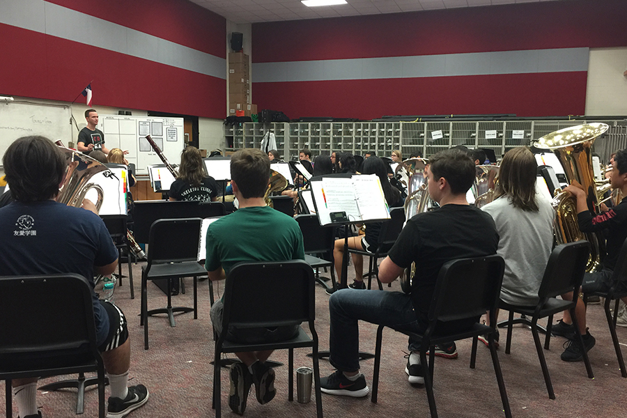 Band and Orchestra members came together for All-Region on Saturday after weeks of practicing solo. By sending 16 students from campus to play alongside some of the region's top players created a competitive environment to further enhance their skill.