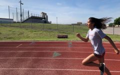 After a week of canceled school, athletes were forced to get creative with their workouts. Starting Monday, school has returned to a temporary online for all students, forcing athletes to adapt to new practices.