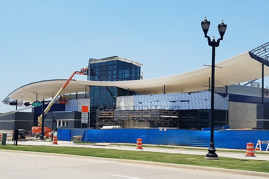 Currently under construction at the south end of Toyota Stadium, the National Soccer Hall of Fame is set to open on Oct. 20.