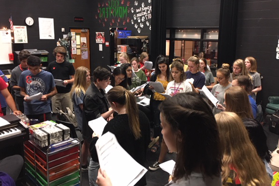 More than three months before the curtain rises on the theatre department's production of the musical