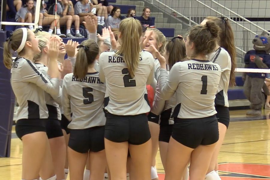 Sweeping the Reedy Lions 3-0 on Tuesday, the Redhawks volleyball teams travels to Centennial to take on the Titans Friday at 5:30 p.m. The Redhawks enter the contest with a 1-1 record in District 9-5A.