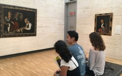 AP art students draw inspiration from museum trip