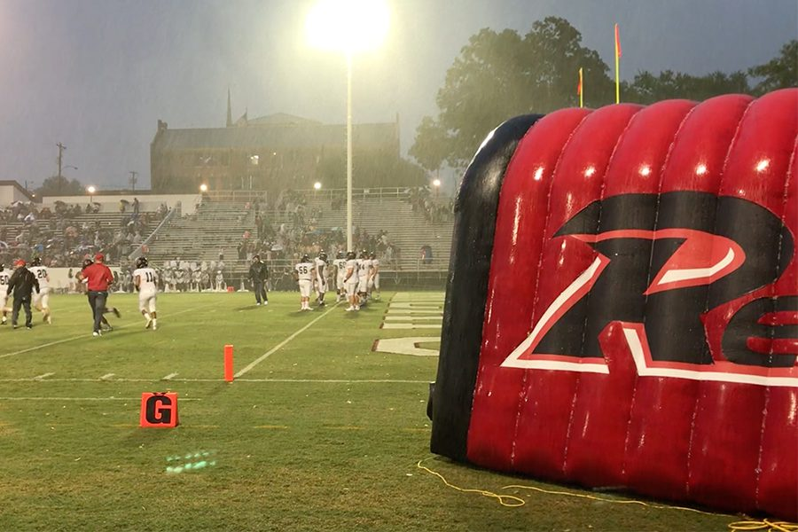 Three games into the season, football has yet to play a game without the rain. Hoping for a brighter season, football will take on Independence on Friday.