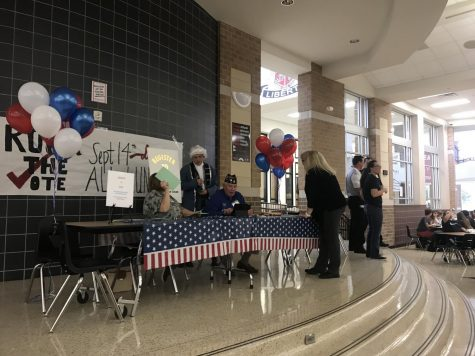 American Legion brings voter registration drive to campus