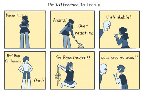Gender inequality in tennis