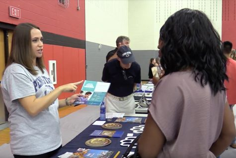 College Fair attracts hundreds of students from across the district