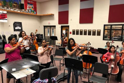 Junior violinist takes spotlight with Lewisville Lake Symphony