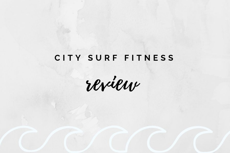 City Surf Fitness offers fitness classes inspired by the everyday lifestyle and training of surfers by performing exercises on a stationary surfboard.