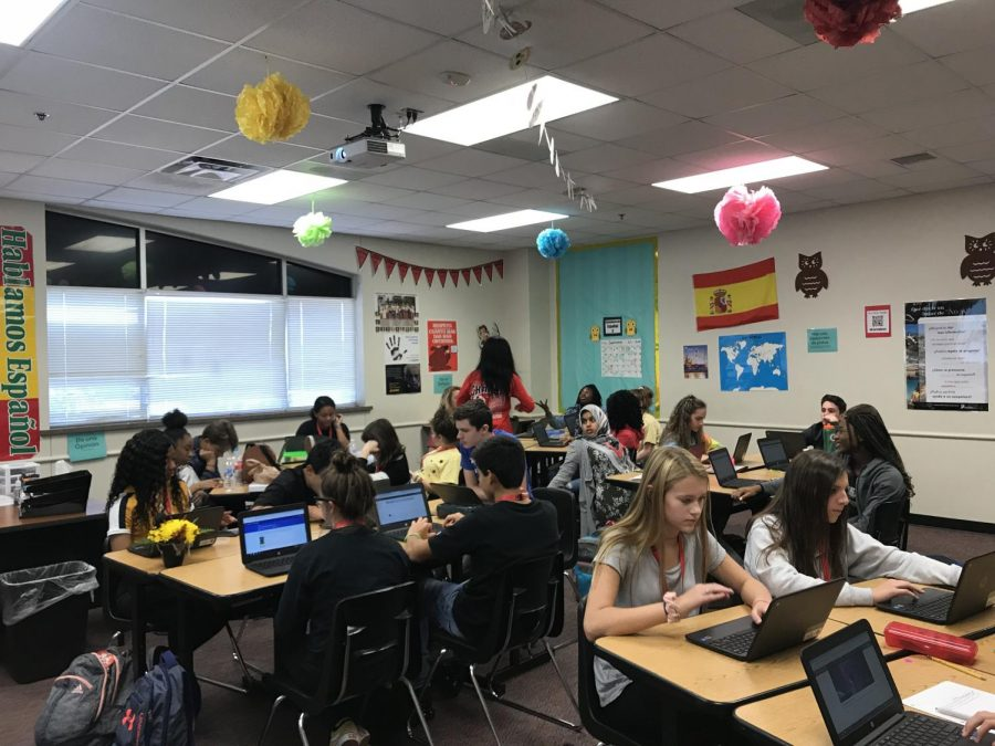 Offering over 20 languages to test out of, Frisco ISD students have the opportunity to advance in a familiar language by completing an assessment through Avant Assessments. This allows students to bypass courses and build off what they already know within their chosen language.