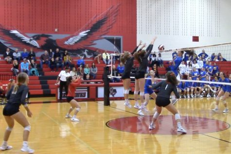 For the third time this season the volleyball takes on the Reedy Lions. This game is at the Nest at 5:45 on Tuesday.