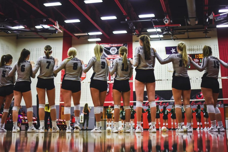 Volleyball+ends+one+game+winning+streak+with+a+loss+against+Independence.+The+team+now+stands+at+1-3+in+District+9-5A.
