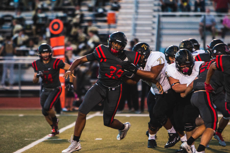 Searching for its first win, football hopes to find it Friday night as they travel to Little Elm to take on the Lobos at 7:00 p.m. The Redhawks enter the game with 0-3 record in District 5-5A.