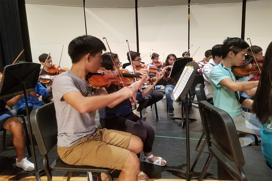 All-Region orchestra auditions take place on Saturday at Jasper High School. Freshmen, sophomores, and juniors are able to audition for the lower string level orchestra. The higher level is available to all grades, along a chance to make the symphonic or philharmonic orchetras.
