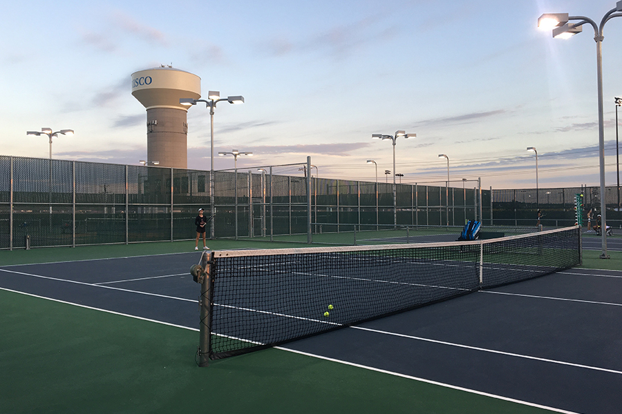 Tennis battled the Princeton Panthers and the Anna Coyotes on Friday, Jan. 25, 2019 at Anna High School. Bringing home multiple first place rankings, tennis looks to continue their success for the rest of the season.