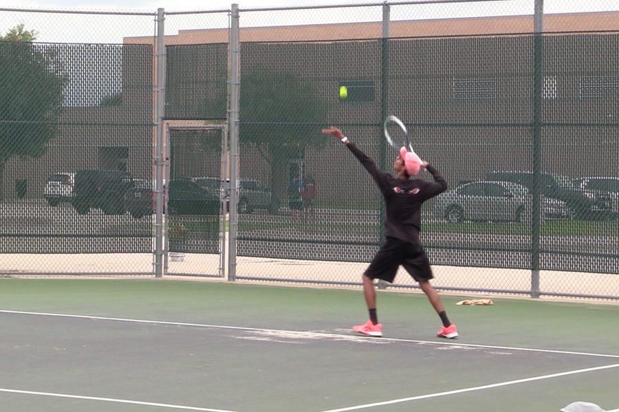 With a playoff spot already clinched, tennis hopes to solidify its District 9-5A seeding with a win over Reedy on Thursday.