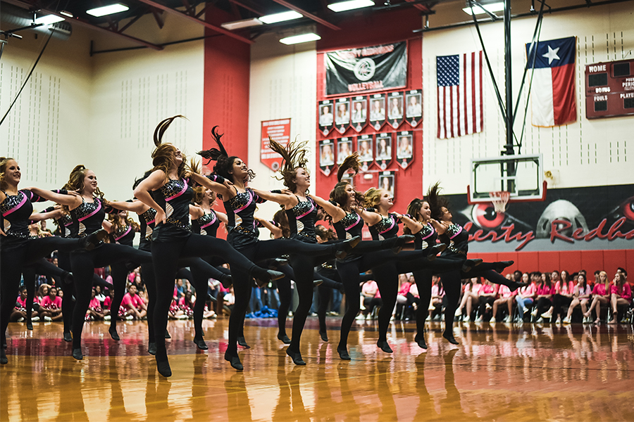 Red Rhythm as well as cheer, football, and color guard will head to the gym on Saturday to kick off football season. Hyping up the start of a new year and new season, students and their families are encouraged to attend.