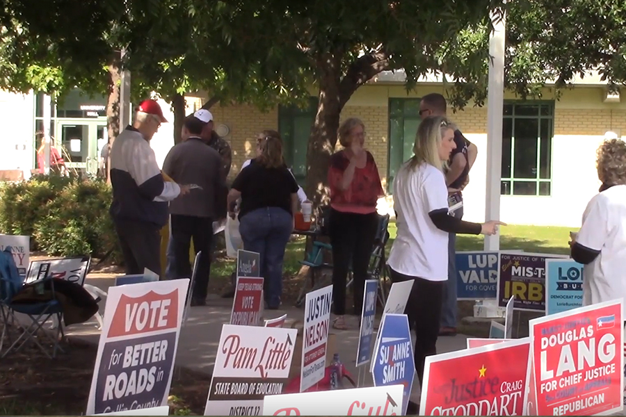 From early voting to Election Day, polling places throughout Denton County and Collin County featured a steady stream of voters with two issues on the ballot Frisco ISD propositions. Voters in both counties approved both the Frisco ISD TRE and bond propositions which will provide funding for the district, one of the fastest growing in Texas.