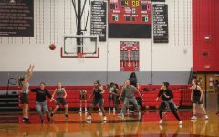 Playing up, girls' basketball takes on 6A teams