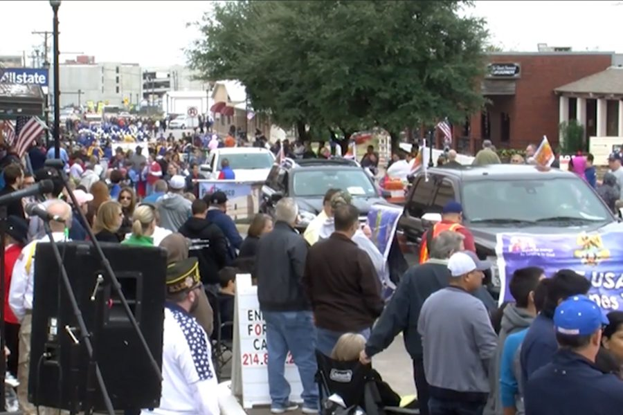 The annual Frisco Community Parade has been cancelled in light of COVID-19. On typical year, school organizations such as football, band, and Red Rhythm would participate in the event.