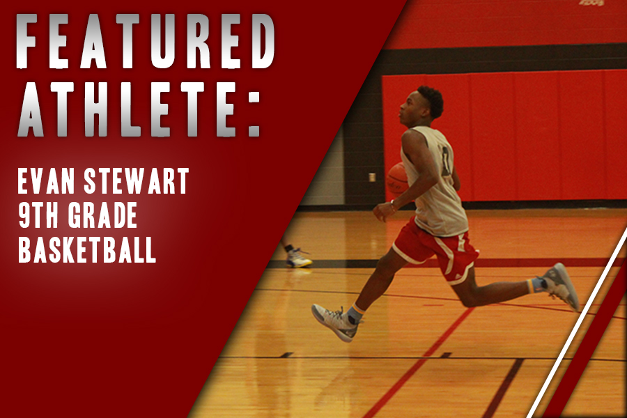 Starting when he was four and following in the footsteps of his brother, freshman Evan Stewart joined the varsity team in his first year. Hoping to start on Tuesday, Redhawks prepare for their game against Frisco.