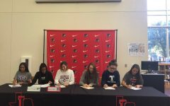 Six Redhawks sign letters of intent