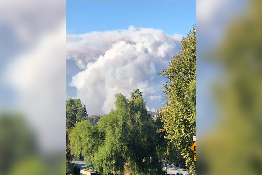Throughout much of the Los Angeles area a wall of smoke can be seen from the Woolsey FIre. With the fire overwhelming area firefighters, more than 200 firefighters from north Texas have gone to California to help out including several from the Frisco Fire Department.