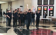 Flash mob performance teases upcoming production