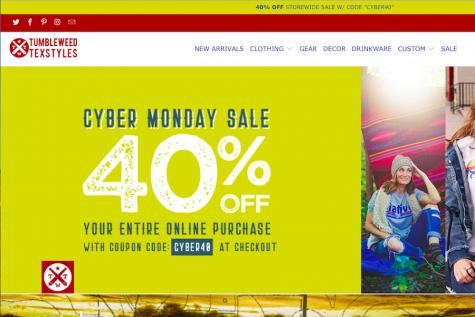 Students seek Cyber Monday deals